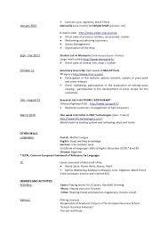 Resume For A Summer Job Resume For A Summer Job Professional Resumes Sample Online