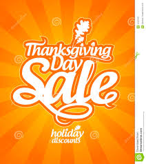 thanksgiving day sale royalty free stock photography image