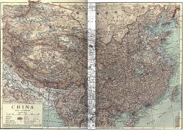China Peak Map by My Maps China 1910 Hw Cribb U0026 Emery Walker Dispatches By