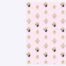 luxury wrapping paper gemma collins luxury wrapping paper sheets a3 gift wrap