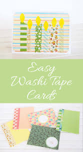 washi tape cards pa country crafts