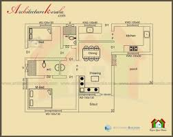house plans 1000 sq ft gorgeous below 1000 square house plan and elevation