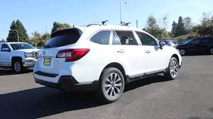 subaru outback touring 2018 subaru outback 3 6r touring crystal white pearl j3223057
