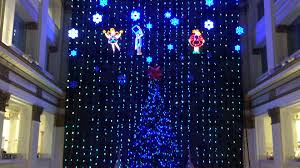 wannamaker macy u0027s philadelphia christmas light show 2015 part 1 w