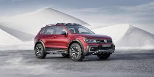 volkswagen touareg 2016 price 2016 volkswagen tiguan gte active concept pictures news research