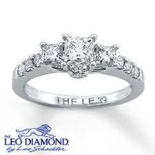 leo diamond ring leo diamond enhancer ring 3 4 ct tw cut 14k white gold leo