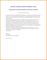 letter of recommendation format 8 employment recommendation letter sales slip template