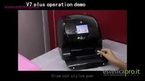nail printer stampante per unghie v7 artpronail youtube
