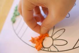 easy tissue paper easter egg craft for kids time snippets