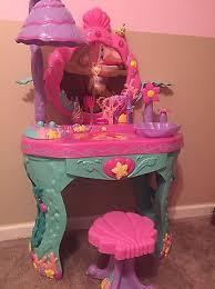 The Little Mermaid Vanity Rare Disney Princess Ariel Little Mermaid Magical Talking Beauty
