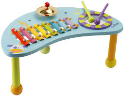 baby standing table toy boikido wooden percussion table great for a child who has mastered