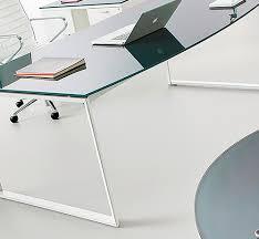bureau metal et verre bureau direction verre pas cher en promotion et en stock jade
