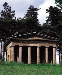 neoclassicism james stuart doric portico hagley park