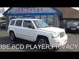 jeep patriot 2 0 crd jeep patriot limited crd 2 0 diesel 6 speed manual 5 door 4x4