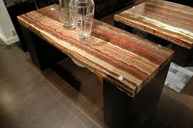 Stone Console Table 1 Contemporary Furniture Product Page