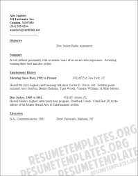 Show Examples Of Resumes by Sample Resume Sle Resume For Vp Sales Vice Bid Director Resume