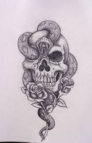 amazing skull tattoos skull and snake tattoo designs 35 amazing skull and snake tattoos