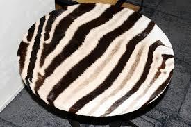 Zebra Side Table Zebra Side Table With Kudu Horns For Sale At 1stdibs