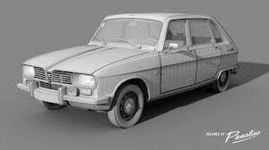 renault car 1970 3d model renault 16 ts 1970 cgtrader
