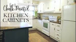 linen chalk paint kitchen cabinets our 75 chalk paint cabinet transformation no sanding