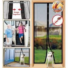 Patio Door Magnetic Screen Felji Instant Mesh Screen Door Magnetic Free Bug Mosquito Fly Pe