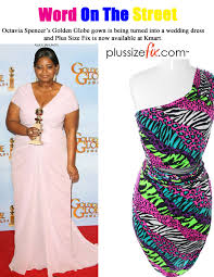 word on the street octavia spencer u0027s golden globe dress now a