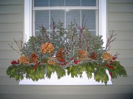 window boxes in the winter article how and what to do with window