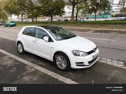 white volkswagen gti 2016 strasbourg france oct 24 2016 image u0026 photo bigstock