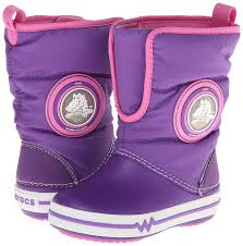 crocs light up boots crocs lights gust ps girls boot in purple buy online at low prices