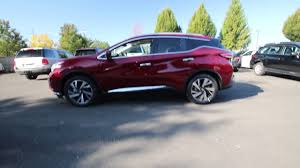 2017 nissan murano platinum midnight edition 2017 nissan murano platinum cayenne red metallic hn188588