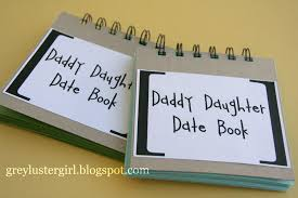 daddy daughter date book great fathers day gift a page to write
