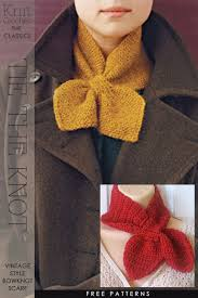 knitting pattern bow knot scarf classic bow knot style learn all about how it s constructed