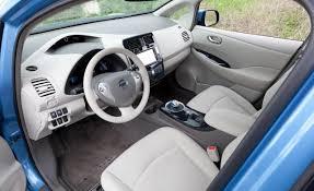 nissan leaf x grade vs g grade car picker nissan leaf interior images
