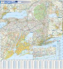 map new york state new york state map