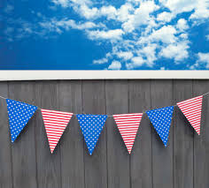 Flag With Cross And Stripes Diy Stars And Stripes 4th Of July Banner