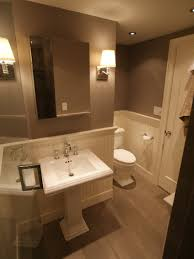 bathroom design ideas wainscoting here u0027s an elegant half bath