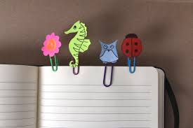 kids u0027 craft diy paperclip bookmarks jam blog