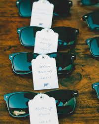 sunglasses wedding favors summer wedding favors to keep guests comfortable martha stewart