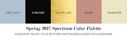 the 2017 spring color palette that needs to be on your radar