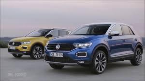 new 2018 volkswagen t roc interior and exterior youtube