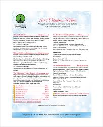 service menu template 18 menu templates free sle exle format