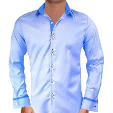 What Color Tie With Light Blue Shirt Blue French Cuff Dress Shirts