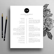 Lebenslauf Vorlage Normal Creative Resume Template Cv Template Cover Letter References