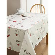 table cloth pvc wipe clean tablecloth birds kitchen b m