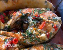 cuisiner le mulet tajine de mulet noir aux poivrons à la marocaine pâtisseries et