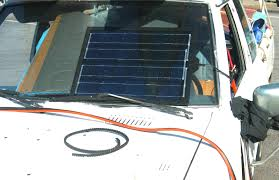 solar car battery charger diy 5 steps