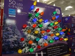 stylish ideas ge christmas lights led multi color c9 led bright