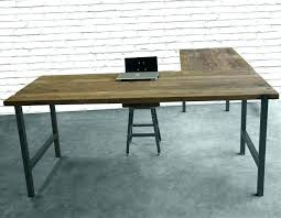 L Shaped Desk With Left Return L Shaped Desk Left Return Wooden Oak Wood Computer With Hutch