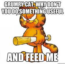Garfield Memes - grumpy garfield memes quickmeme