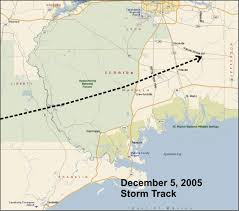Ft Rucker Map Tae Tornadoes Of December 5 2005